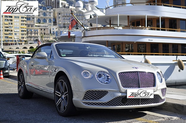 Louer Bentley GT Continental Monaco