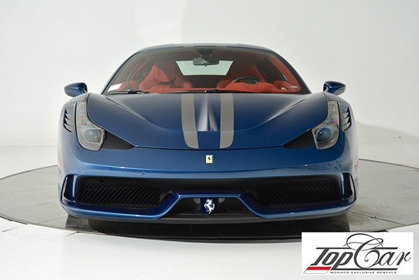 Rent Ferrari 458 Speciale Monaco | Top Car