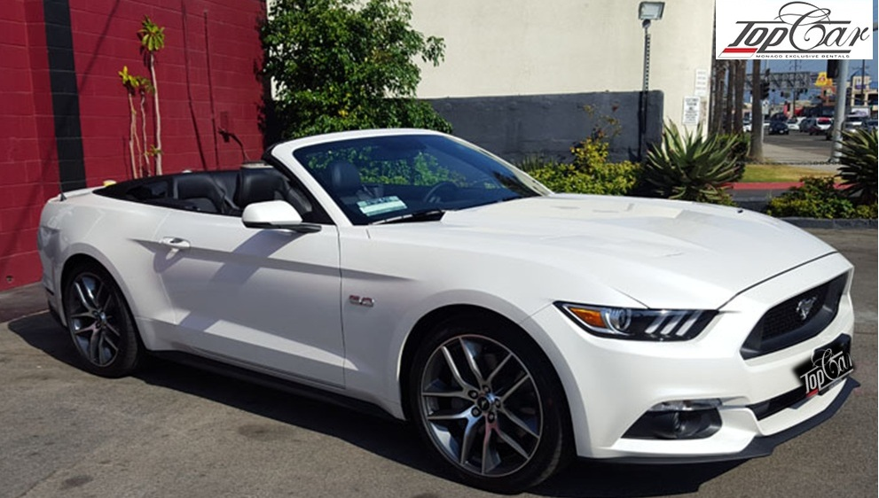 Rent Ford Mustang GT Nice Airports, Luxury car rental service in Nice, Prestige car rental in Cote d'Azur