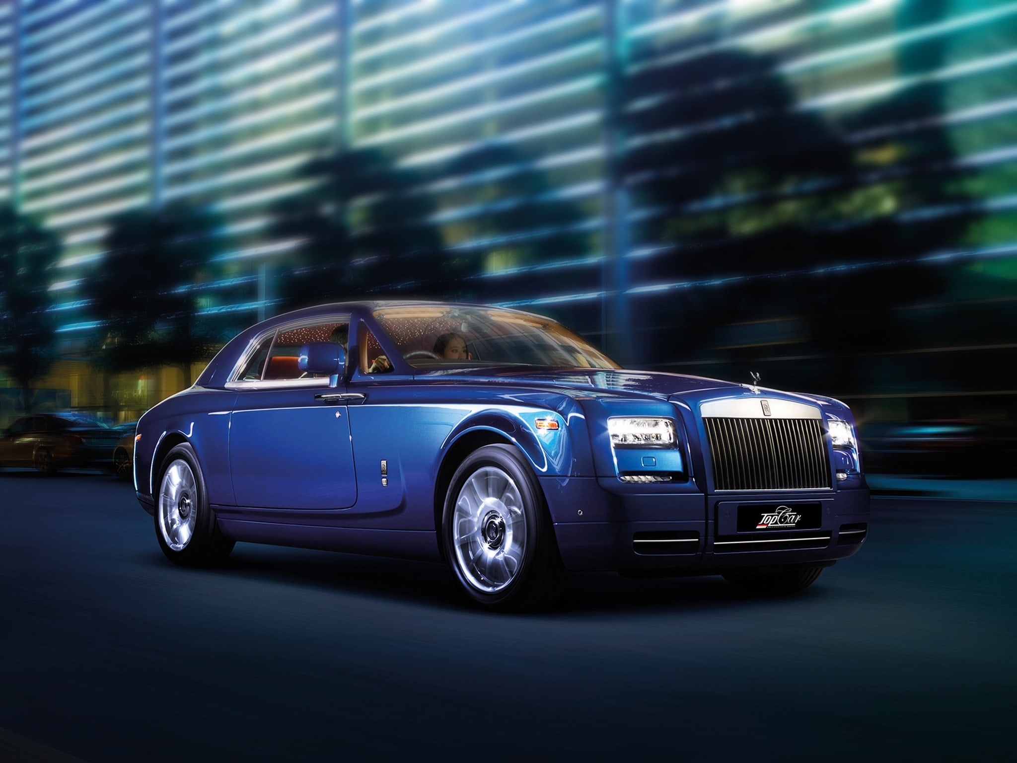 Rent Rolls Royce Phantom Monaco
