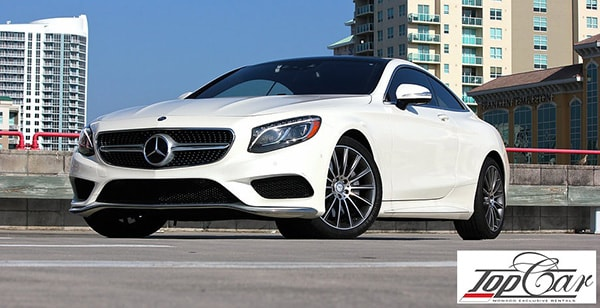 Rent Mercedes-Benz S550 Coupe Monaco