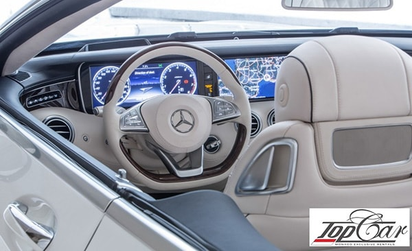 Rent Mercedes-Benz S550 Coupe Monaco | Top Car