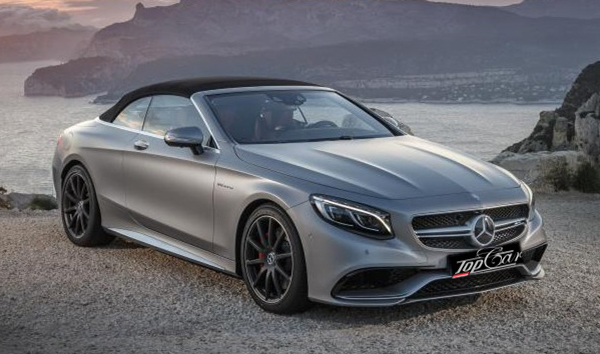Rent Mercedes-Benz S63 AMG Cabriolet