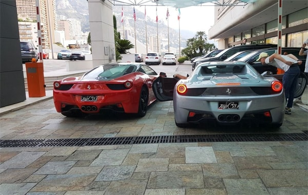 Ferrari, Lamborghini , Bentley, Porsche or Maserati in Nice, France with Top Car Monaco