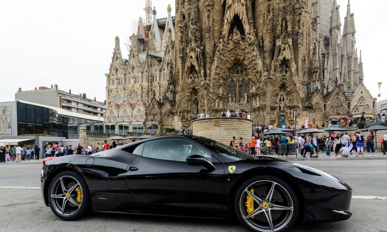 luxury car rentals barcelona hire lamborghini for day top car monaco. Black Bedroom Furniture Sets. Home Design Ideas