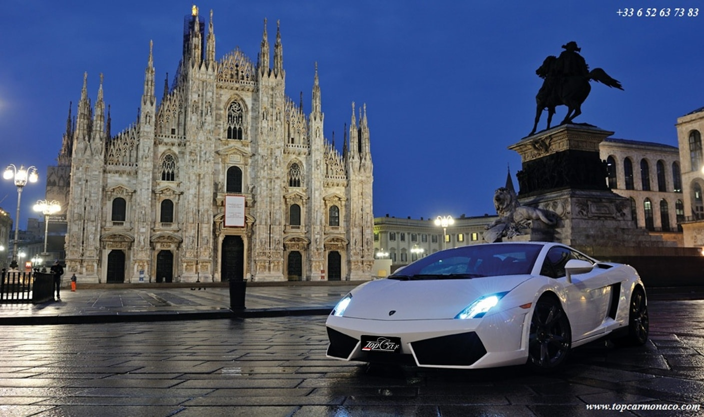 Prestige car rent Milan